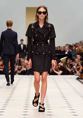 B7Burberry Womenswear S S16 Collection - Look 16